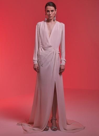 Museum Of Fine Clothing Elbise Ekru